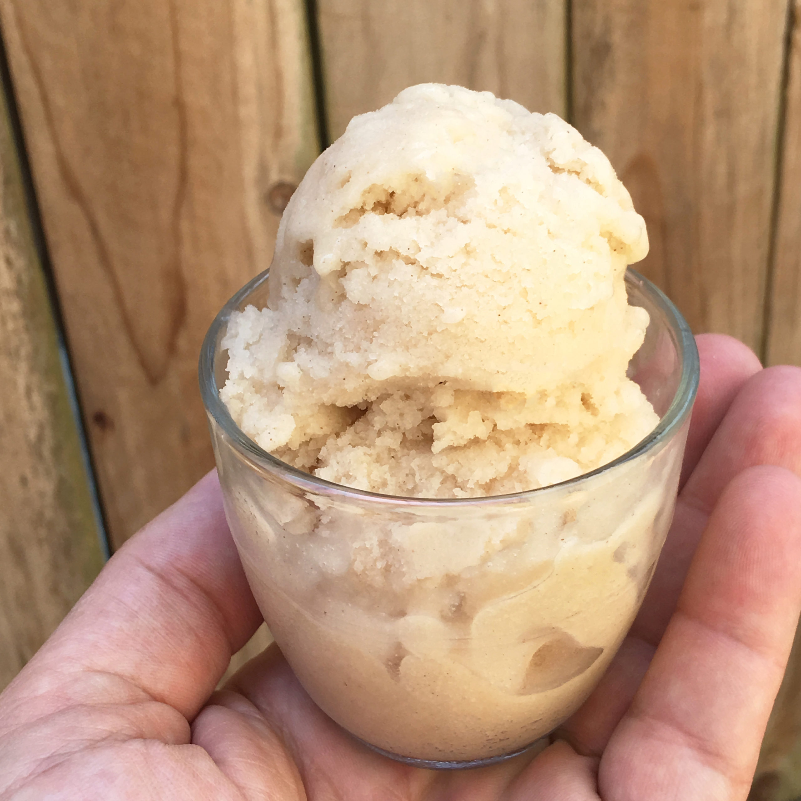 Horchata Tiger Nut Ice Cream by The Allergy Chef