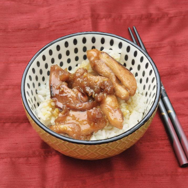 Teriyaki Chicken by The Allergy Chef