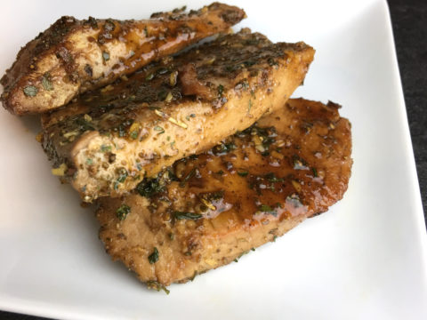 Maple Garlic Ahi by The Allergy Chef
