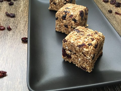 Cranberry Oat Cubes by The Allergy Chef