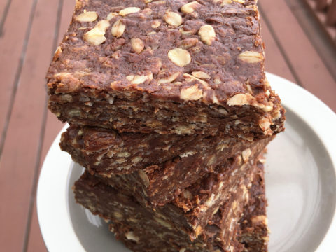 Honey Oat Squares by The Allergy Chef