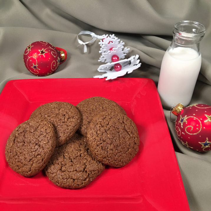 Gluten Free Gingerbread Cookies by The Allergy Chef