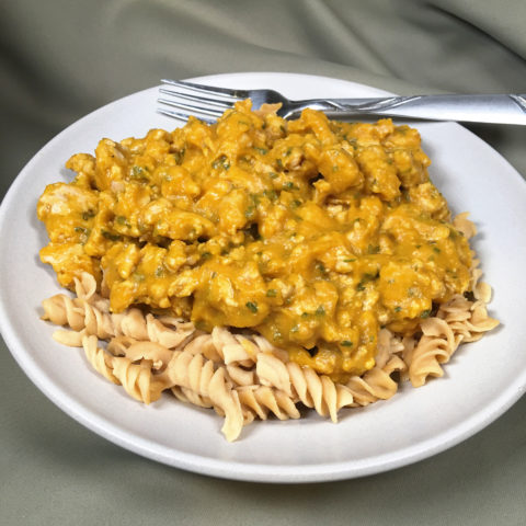 Pumpkin Pasta by The Allergy Chef