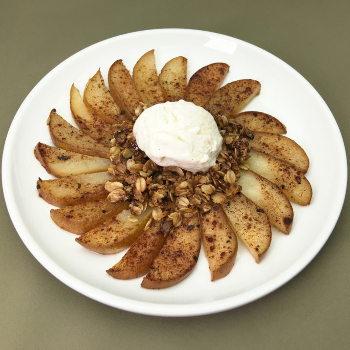 Pear Dessert by The Allergy Chef