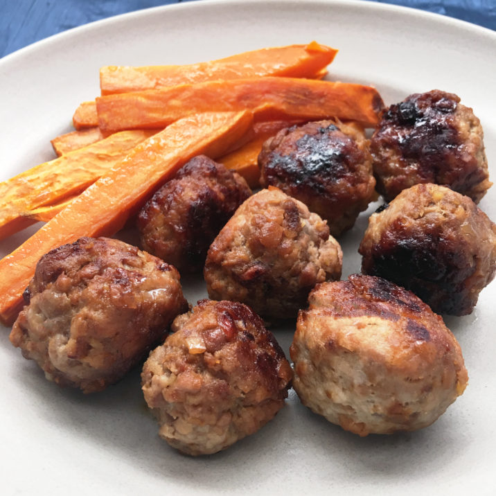 Apple Cinnamon Meatballs by The Allergy Chef