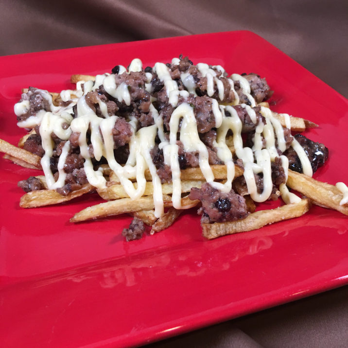 Blueberry Parmesan Cheese Fries by The Allergy Chef