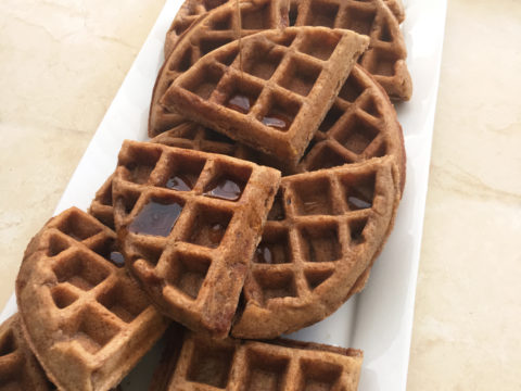 Apple Pie Waffles by The Allergy Chef