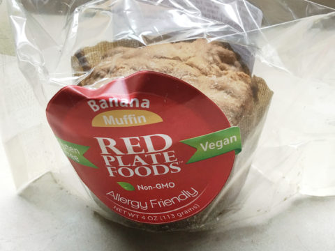 Red Plate Foods Banana Muffin Review by The Allergy Chef