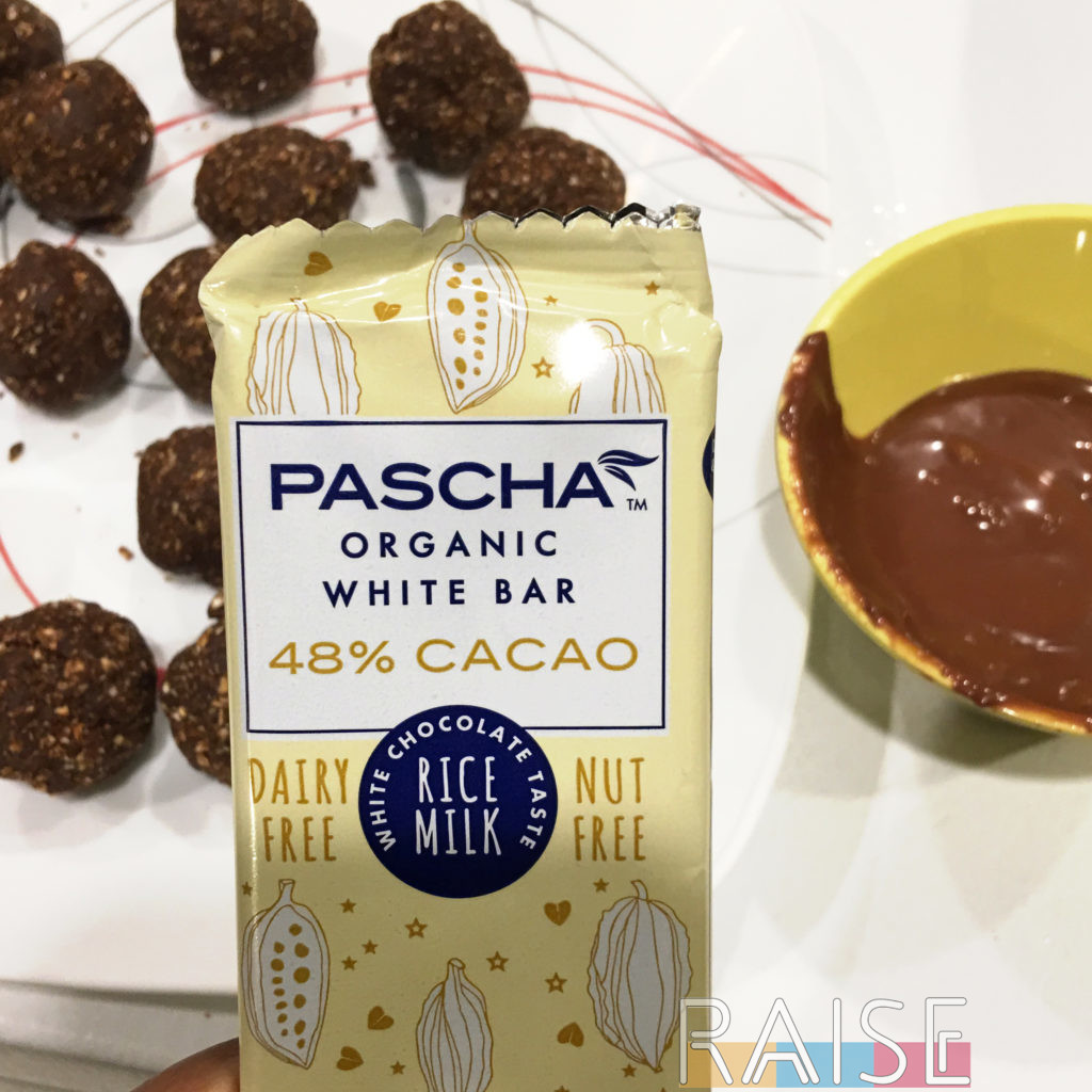 Pascha White Chocolate by The Allergy Chef