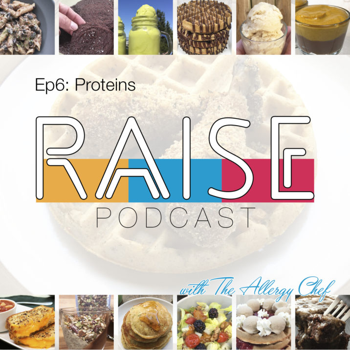 RAISE Podcast Cover: Proteins