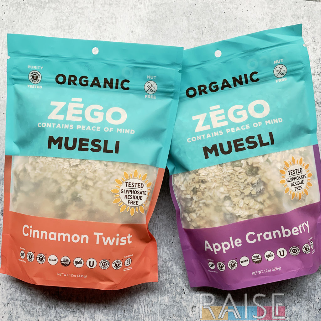 Zego Muesli by The Allergy Chef