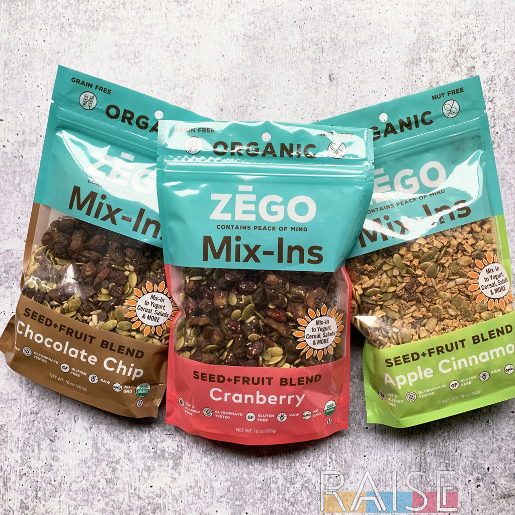 Zego Mix-Ins by The Allergy Chef