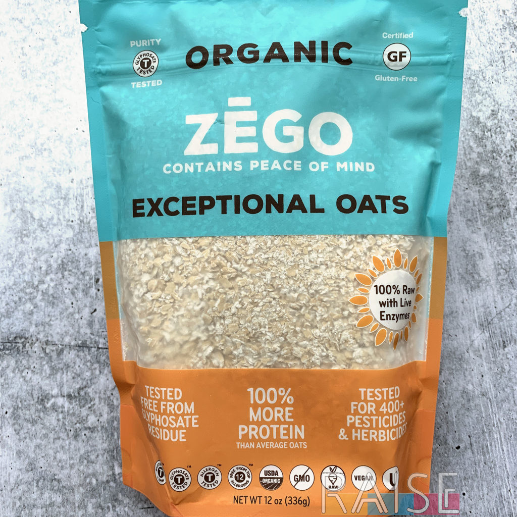 Zego Oats by The Allergy Chef