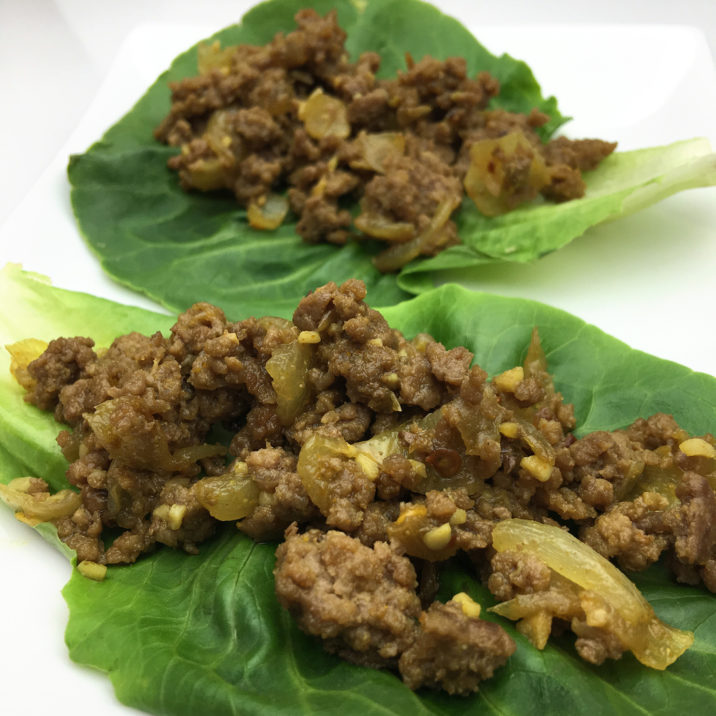 Spicy Bison Lettuce Wraps by The Allergy Chef