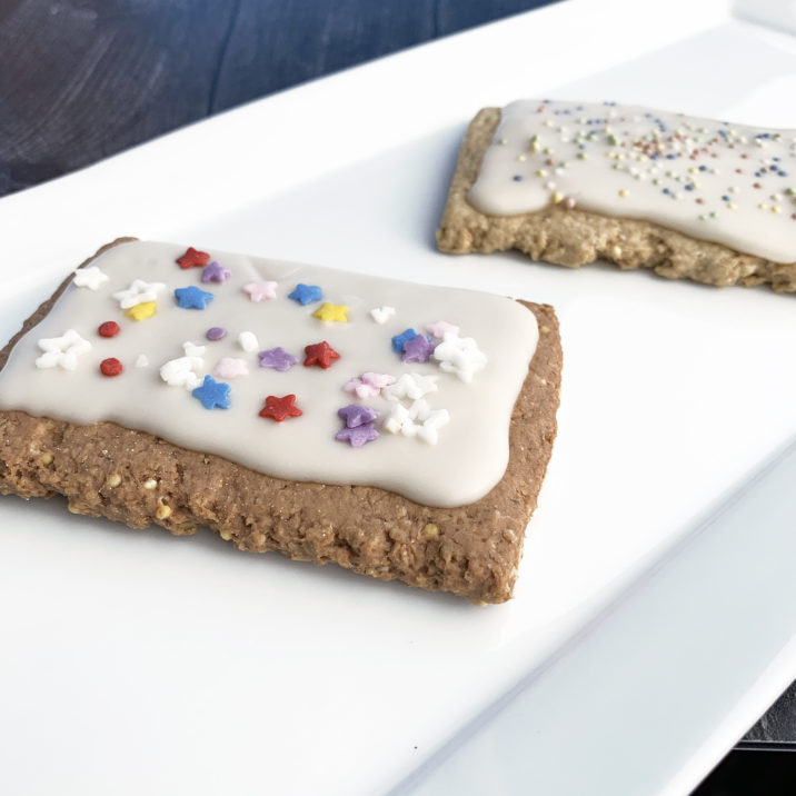 Gluten Free Vegan Poptarts by The Allergy Chef