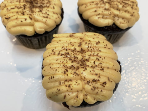 Orange Chocolate Cupcakes by The Allergy Chef