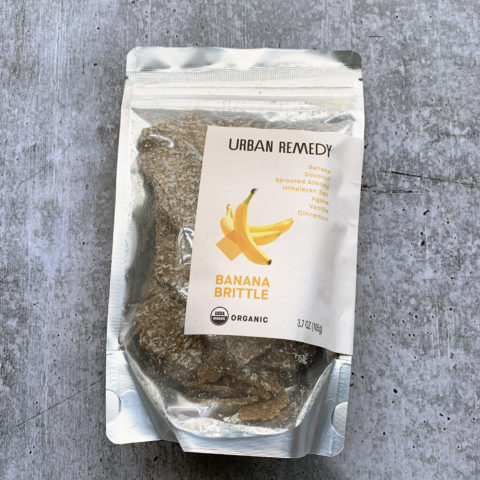 Urban Remedy Banana Brittle