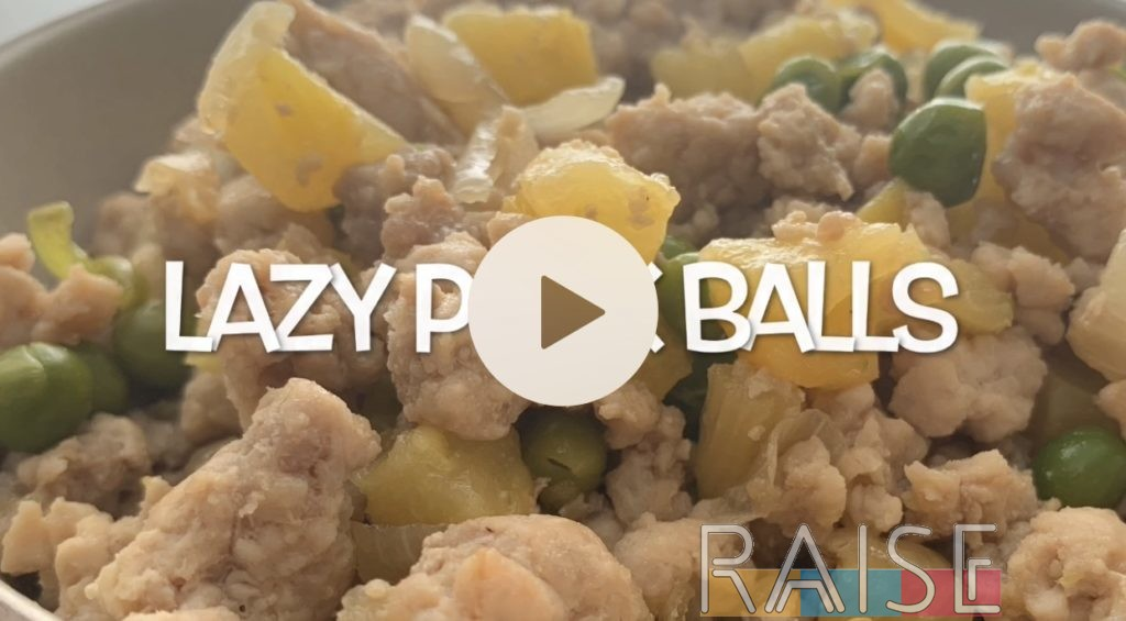 Lazy Pineapple Pork Balls by The Allergy Chef