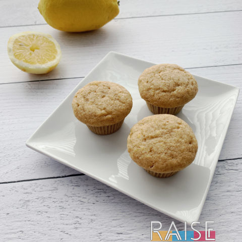 Corn Free Lemon Muffins by The Allergy Chef