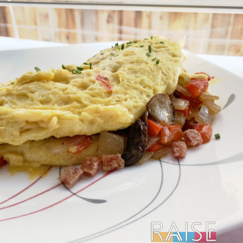 Egg Free Omelet by The Allergy Chef
