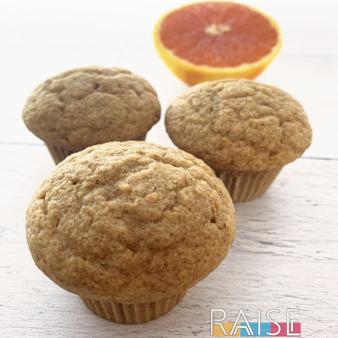 Corn Free Orange Muffins by The Allergy Chef