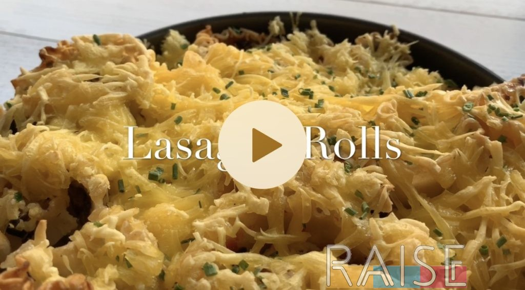 Easy Cooking Video: Lasagna Rolls by The Allergy Chef