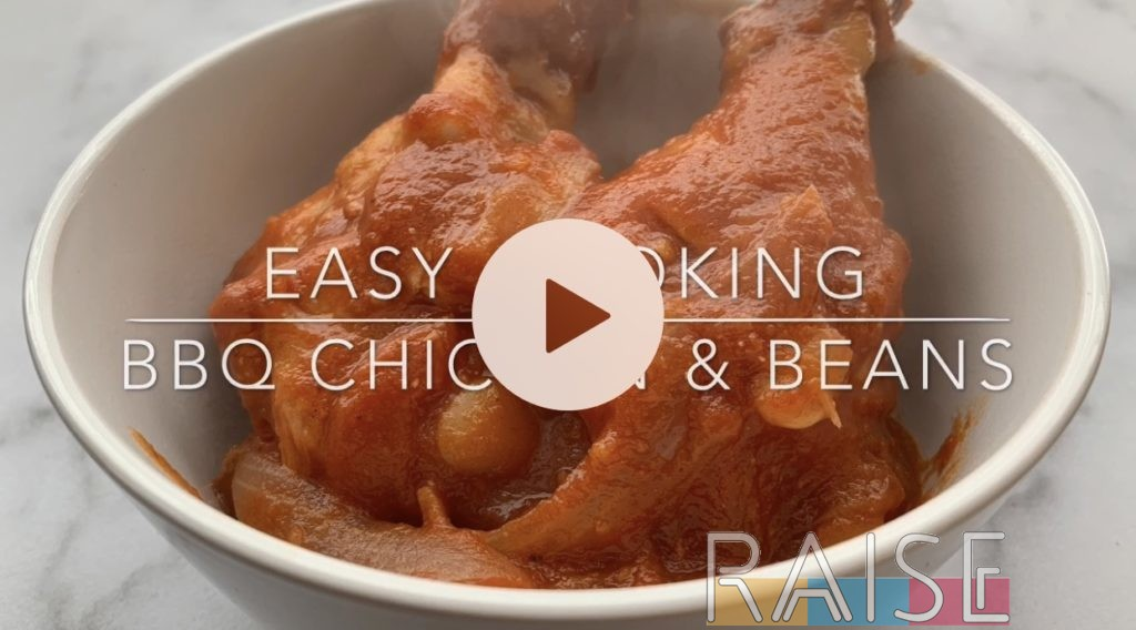 Easy BBQ Chicken & Beans by The Allergy Chef