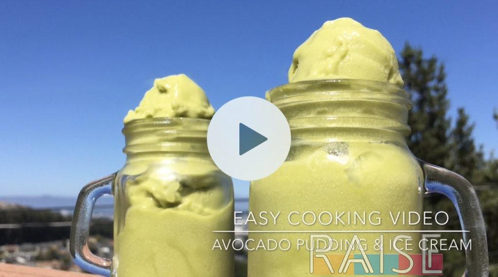 Corn Free Avocado Ice Cream & Pudding by The Allergy Chef