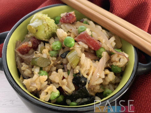 Pork Fried Rice by The Allergy Chef