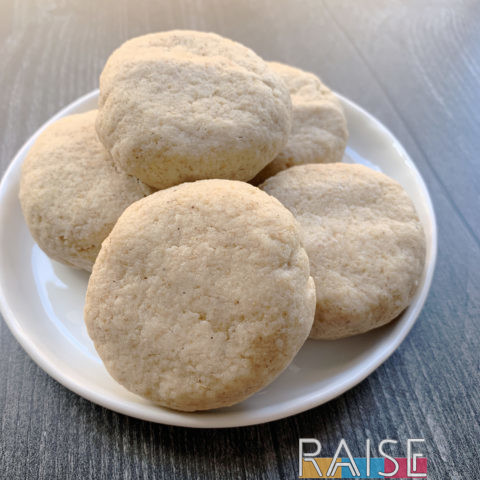 Gluten Free Vegan Corn Free Cookies by The Allergy Chef