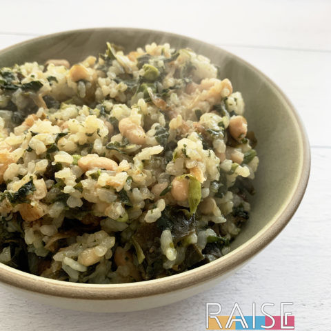 Quick Calcium Meal Gluten Free & Vegan by The Allergy Chef