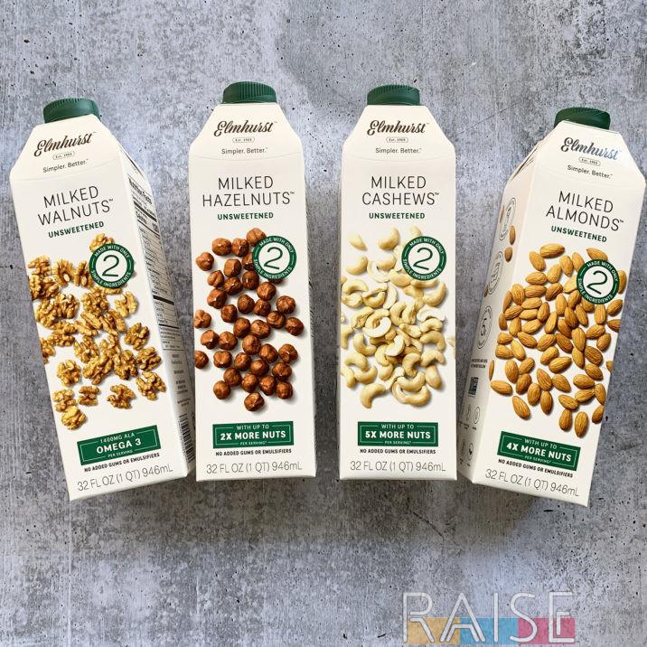 Elmhurst Dairy Free Milk by The Allergy Chef