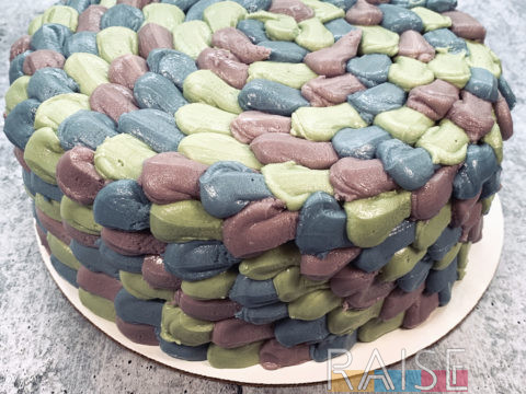 Gluten Free Vegan Mermaid Cake by The Allergy Chef
