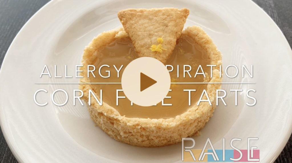 Gluten Free Vegan Corn Free Tart by The Allergy Chef