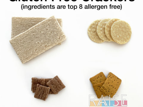 Gluten Free Crackers by The Allergy Chef