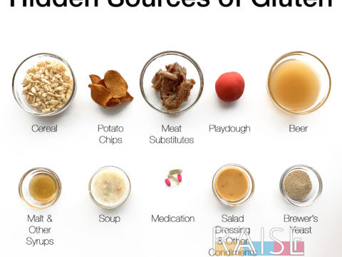 Hidden Sources of Gluten by The Allergy Chef