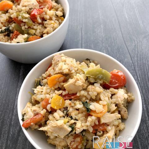 Tuna & Veggie Garden Cookup