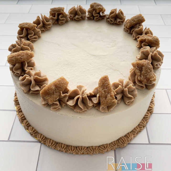 Gluten Free, Vegan, Top 8 Free Snickerdoodle Cake by The Allergy Chef