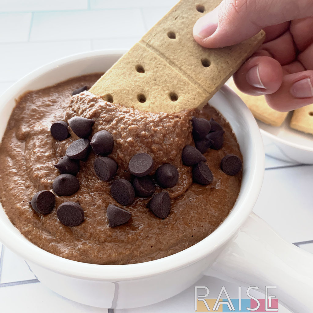 Chocolate Hummus Dip by The Allergy Chef