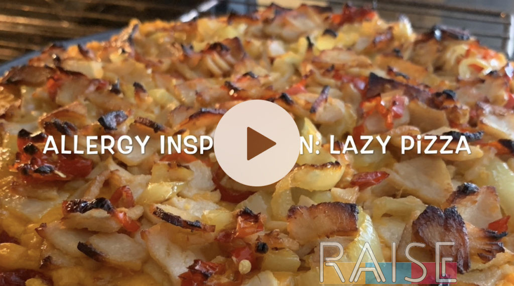 Lazy Pizza Allregy Inspiration by The Allergy Chef