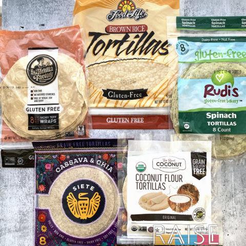 Gluten Free Tortillas by The Allergy Chef