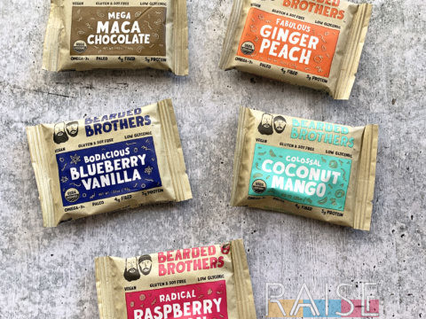 Bearded Brothers Snack Bars Review by The Allergy Chef