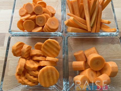 How To Prepare Carrots by The Allergy Chef