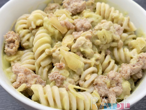 Gluten Free, Top 8 Allergy Free Taco Pasta by The Allergy Chef