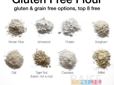 Gluten Free Flour by The Allergy Chef