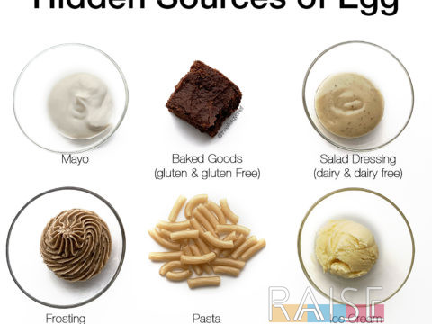 Hidden Sources of Egg by The Allergy Chef