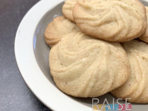 Gluten Free, Vegan, Top 8 Free Danish Butter Cookies