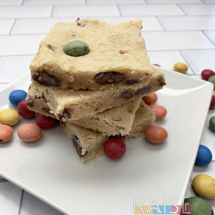Gluten Free, Vegan, Top 8 Allergy Free Candy Bar Cookies by The Allergy Chef