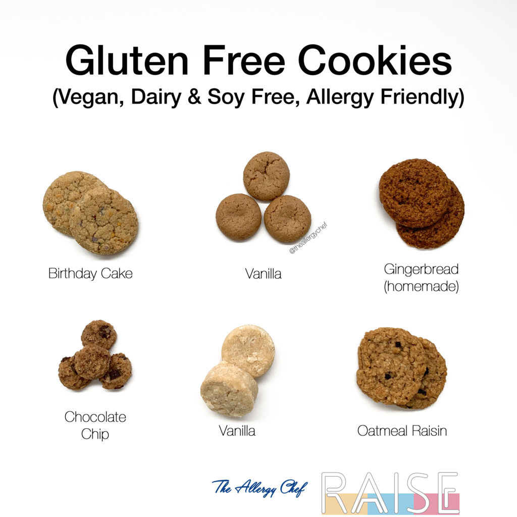 Gluten Free Cookies by The Allergy Chef