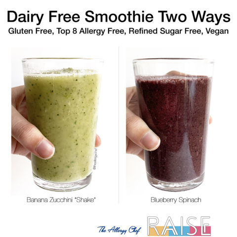 Dairy Free Smoothies by The Allergy Chef
